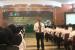 Direktur Bina Haji Kemenag Khoirizi H Dasir sedang memberikan pengarahan kepada petugas haji di Arab Saudi, Rabu (24/4) pagi.