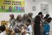 Hijabers Community Bogor Selenggarkaan Ramadhan Festival bersama anak yatim piatu di Yayasan Akbar Alqi, Bogor, Sabtu (11/5).