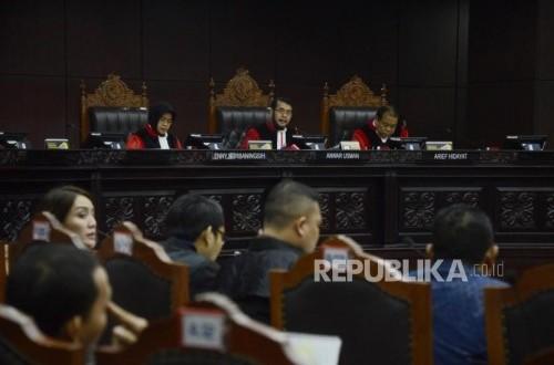MK Bacakan Putusan 67 Perkara Sengketa Pileg 2019