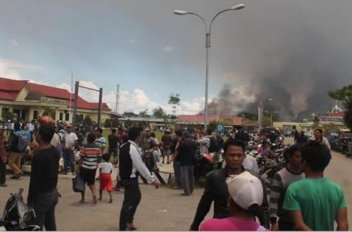 Polres Jayawijaya Tetapkan 13 Tersangka Kerusuhan Wamena