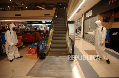 Peritel di Pusat Belanja Tunggu Kepastian Status PSBB