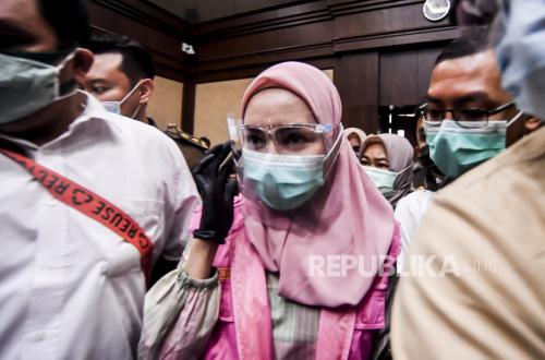 Jaksa Pinangki Bantah Sebut Nama Jaksa Agung dan Hatta Ali