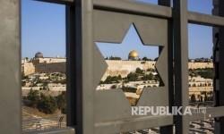 Polisi Israel Cegah Perbaikan Dome of the Rock