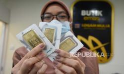 Harga Emas Antam Sentuh Posisi Terendah dalam Dua Bulan