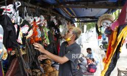 PPKM Sedikit Dilonggarkan, Pasar Klewer Masih Sepi