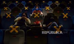 Hari Pertama Buka, Bioskop Jakarta Mulai Ramai