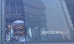 Massa Simpatisan HRS Kepung <em>Flyover </em>Pondok Kopi