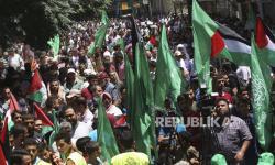 Enggan Dibohongi Israel, Warga Gaza Tetap Demo Aneksasi