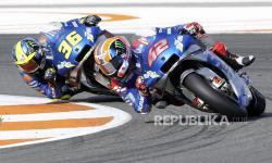 Jeblok di Kualifikasi, Duet Suzuki Berat di MotoGP Prancis