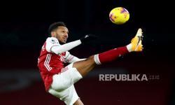 Aubameyang Dua Gol, Arsenal Gasak Newcastle 3-0