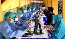 In Picture: Vaksinasi Covid-19 di Yogyakarta Capai 71 Persen dari Target