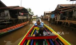 Dua Kelurahan di Banjarmasin Deklarasi Setop BAB di Sungai