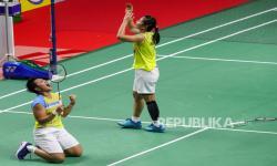 In Picture: Momen Greysia/Apriyani Juarai Turnamen Thailand Open