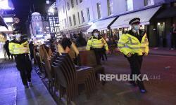 Inggris Tangkap 155 Pengunjuk Rasa Anti-Karantina Nasional