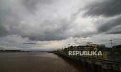 Sungai Kayan Meluap Sejumlah Kawasan Tergenang Banjir