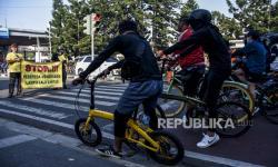 Pesepeda Diimbau Ikuti Jalur Khusus Sepeda di Kota Bandung