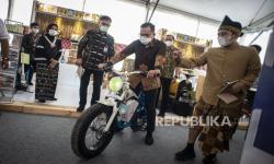 In Picture: Peresmian Pameran Karya Kreatif Indonesia di Lombok Tengah