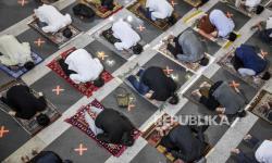 In Picture: Shalat Tarawih Pertama Ramadhan 1442 H di Masjid Pusdai