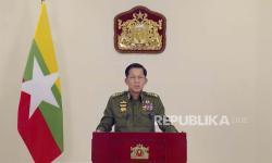 Min Aung Hlaing Deklarasikan Jadi Perdana Menteri Myanmar