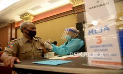 In Picture: Vaksin Covid-19 Tahap Kedua bagi ASN Layanan Publik di Bogor