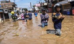 100 Ribu Warga Terdampak Banjir di Kabupaten Bandung
