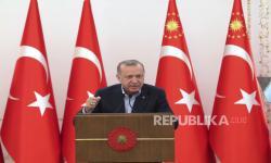 Erdogan Bahas Soal Palestina dengan Raja Malaysia dan Qatar
