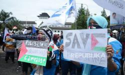 Wagub Jabar Bersama Buruh Dukung Rakyat Palestina