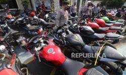 Polisi Sita 25 Motor Curian di Rumah KontrakanBekasi