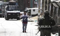 Kengerian di Kashmir dalam Setahun India Cabut Hak Istimewa