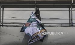 Kota Bekasi Bersih dari Spanduk Habib Rizieq
