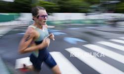 Bermuda Dapat Medali Emas Pertama Olimpiade Lewat Triathlon