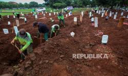 Pemprov DKI Siapkan 17.900 Petak Pemakaman Baru