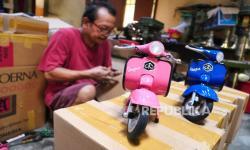 In Picture: Produksi Hiasan Miniatur untuk Ekspor (1)