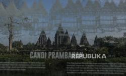 In Picture: Kawasan Wisata Candi Prambanan Ditutup Sementara