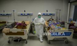 In Picture: Suasana Perawatan Pasien Covid di RSUD Bogor (2)