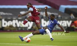 In Picture: Chelsea Takluk Akibat Gol Telat West Ham United