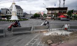 In Picture:  Proyek Revitalisasi Kawasan Tugu Jogja