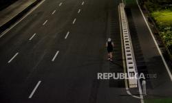 In Picture: Hindari Kerumunan Takbiran, Jalan Sudirman - Thamrin Ditutup