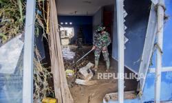 Ratusan Rumah Warga di Kelurahan Aur Medan Terendam Banjir