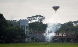 Polisi Sita Ratusan Balon Udara di Pekalongan
