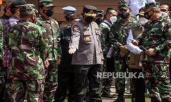 Kapolri Paparkan Langkah Kendalikan Covid-19 di Bangkalan