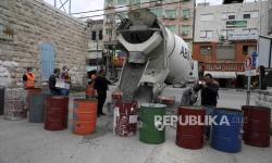 In Picture: Pandemi Covid-19 di Tepi Barat Palestina