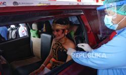 Ikut Mendukung Vaksinasi Pelaku Pariwisata di Prambanan