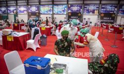 In Picture: Vaksinasi Covid-19 Bagi Prajurit TNI dan Polri