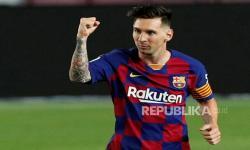 Pique Sarankan Nama Messi Dipakai untuk Stadion Baru