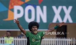 In Picture: Tim Sepakbola Maluku Utara Menang Atas NTT