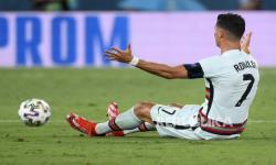 Kapten timnas Portugal Cristiano Ronaldo.