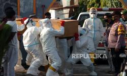 Kematian Pasien Covid-19 di Jakarta Umumnya Terjadi di RS