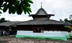 In Picture: Masjid  Tertua di Maluku Ini Berumur Ratusan Tahun