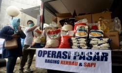 In Picture: Stabilkan Harga Pangan, Bulog Gelar Operasi Pasar